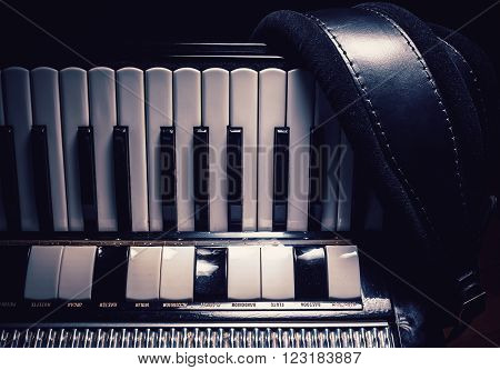 Part Of An Old Accordion