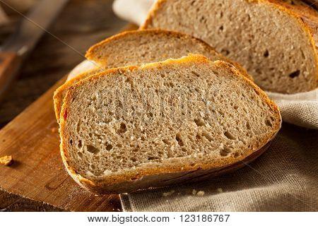 Homemade Crusty Rye Bread