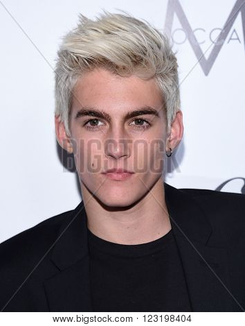 LOS ANGELES - MAR 20:  Presley Gerber arrives to the 2nd Annual Fashion Los Angeles Awards  on March 20, 2016 in Hollywood, CA.