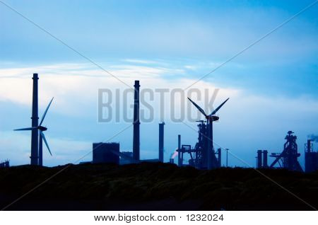 Industry And Windmills
