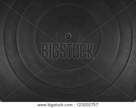 Phonograph Rubber Platter Mat