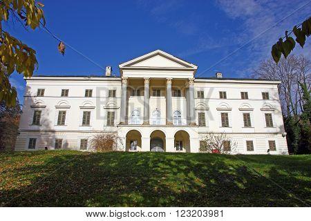 Janusevec castle located in Prigorje Brdovecko near Zagreb. It is the highest achievement of the classicist architecture in Croatia