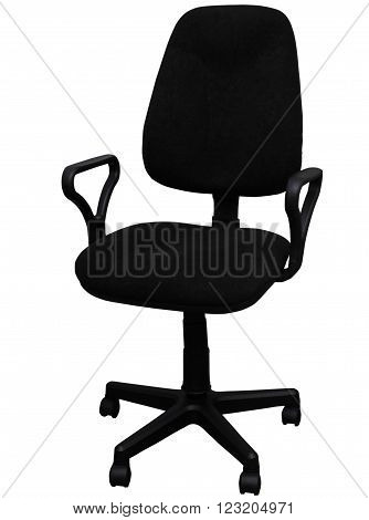 chair on a white background  furniture chair seat