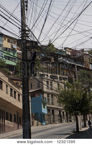 Slums In Valparaiso