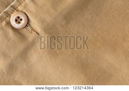 brown shirt textile texture background, cloth industry