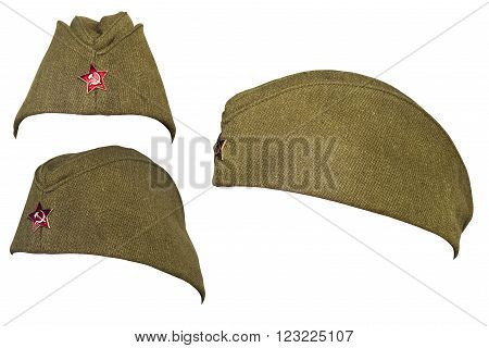Russian soldier cap from the time of communism