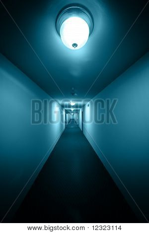 Langen Korridor Interieur