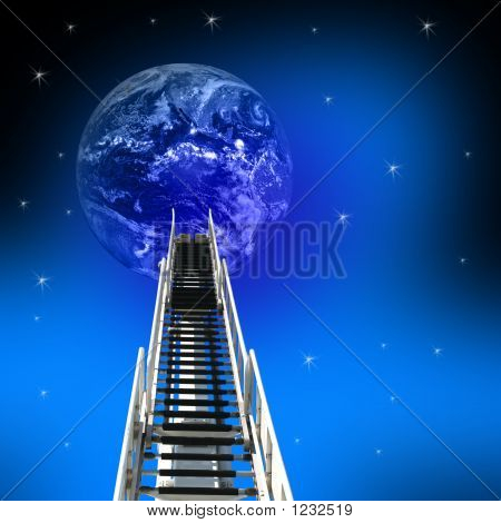 Ladder Up To The Earth