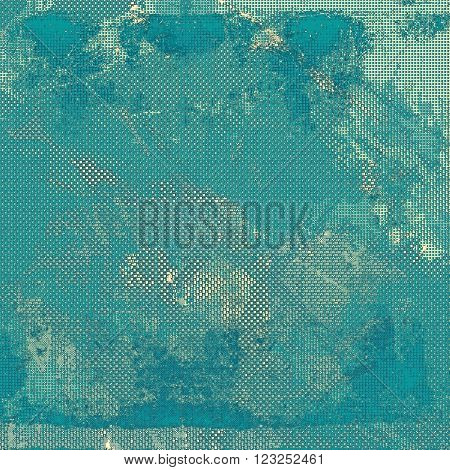 Veined grunge background or scratched texture with vintage feeling and different color patterns: blue; gray; cyan