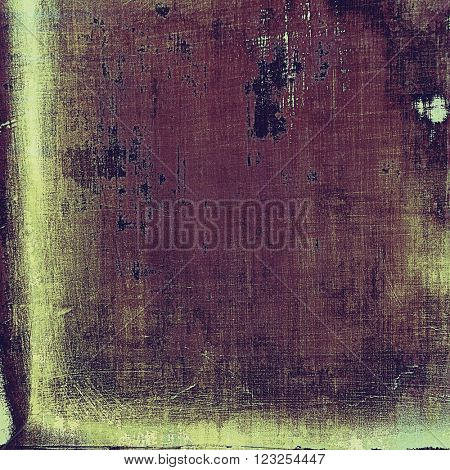 Retro abstract background, vintage grunge texture with different color patterns: yellow (beige); brown; purple (violet); gray