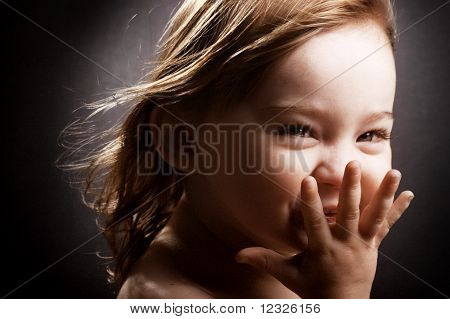Giggling Little Girl