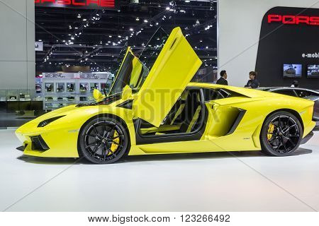 Lamborghini Aventador Lp 7004 Showed