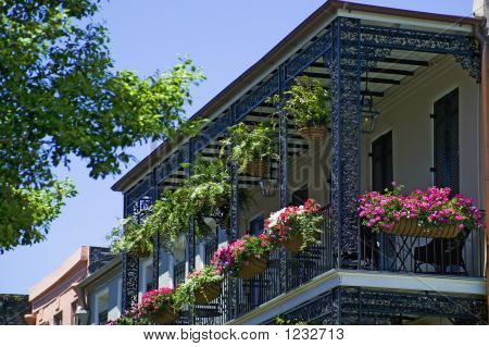 Decorative Iron Balcony