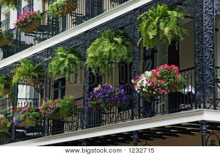 Decorative Iron Balcony
