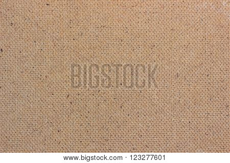 Plywood texture on the reverse side. Brown background.