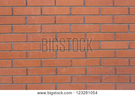 New brick cladding as a textured background