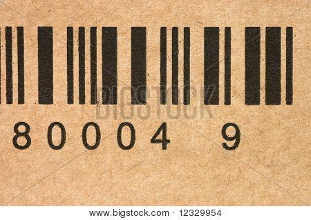 Bar Codes On A Box