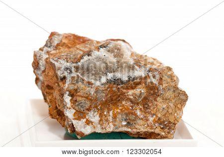 aragonite crystal mineral sample a rare earth mineral