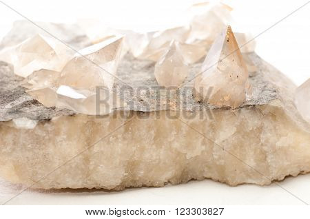 calcite crystal mineral samples a rare earth mineral