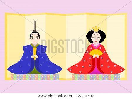 Japanese Prince and Princess