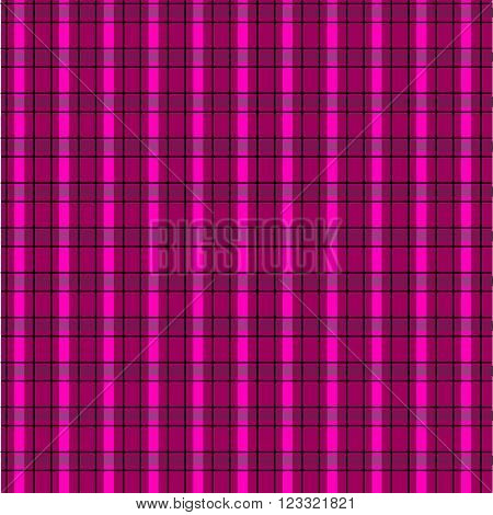Seamless pink plaid pattern. Endless texture abstract geometric ornament background.