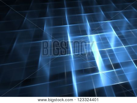 3d abstract grid background texture