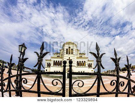August 31 2011.The Chersonese. St. Vladimir's Cathedral in Chersonesos in Sevastopol .Crimea .Ukraine.