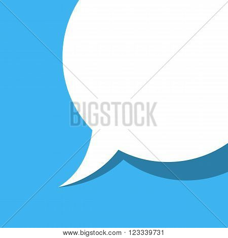 Background dialog box, vector illustration art of conversation.
