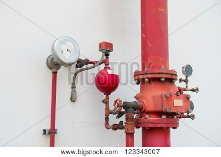 Industrial fire protection system, Fire proof system.