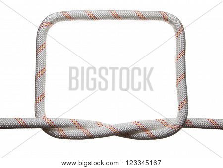 Square Frame Of Rope Bond