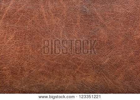the background of red vintage leather grunge
