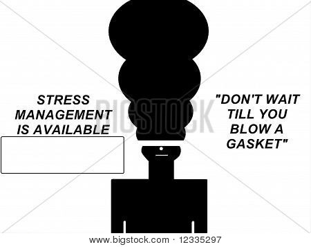 Stress Concept Sign