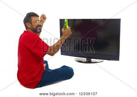 Man And Tv