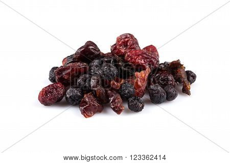 Dried Cranberries, Cherries And Blueberries