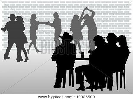 Cafe dance