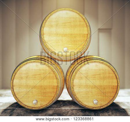 Three Barrel Tops