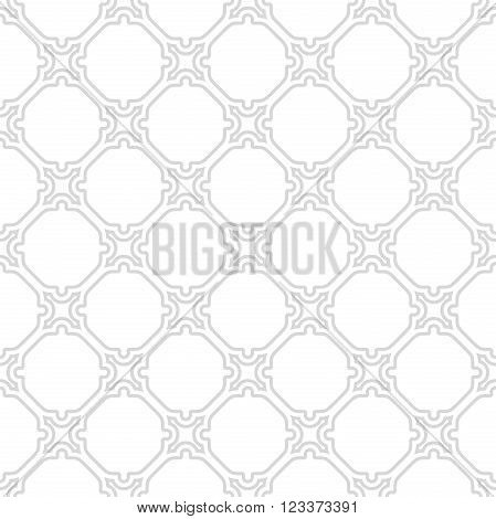 Seamless vector bright ornament. Modern geometric pattern with repeating elements