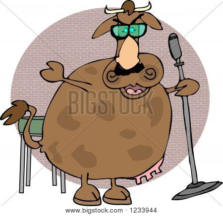 Stand-Up Cow