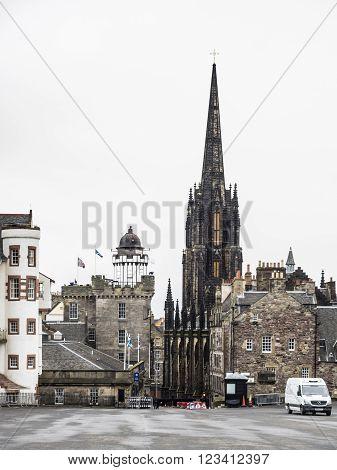 EDINBURGH, SCOTLAND - MARCH 5: The Hub in Edinburgh Old Town at March 5, 2016