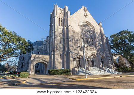 Christian Life Center Of First Baptist In Jackson,  Mississippi