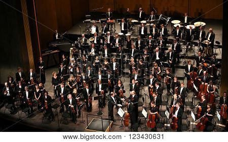 Orchestre National De France, Paris, May 10, 2015