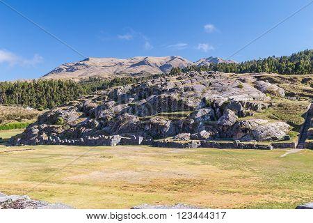Saksaywaman, Saqsaywaman, Sasawaman, Saksawaman, Sacsahuayman, Sasaywaman Or Saksaq Waman Citadel Fo