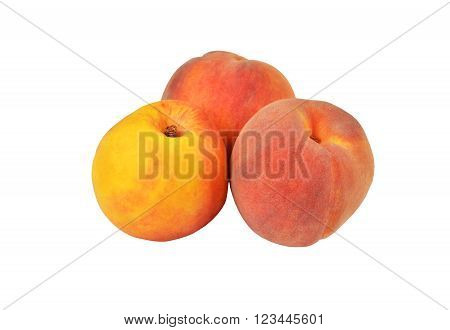 Three Ripe Peach