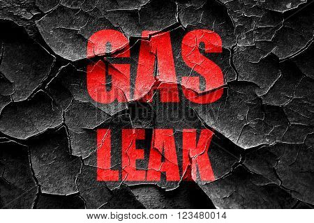 Grunge cracked Gas leak background with some smooth lines
