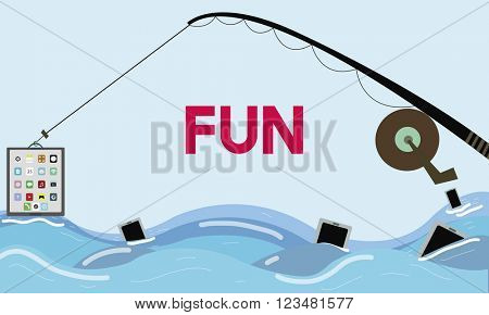 Fun Enjoyment Happiness Amusement Concept