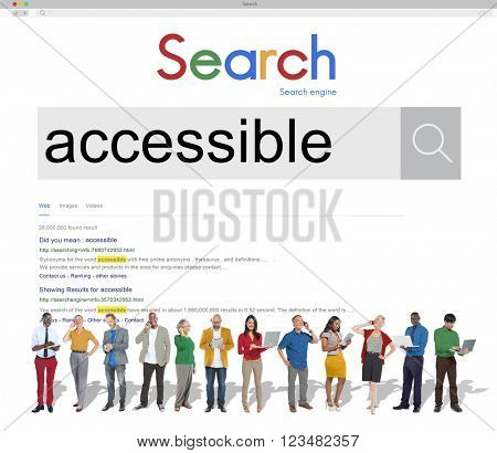 Access Accessible Available Usable Control Concept