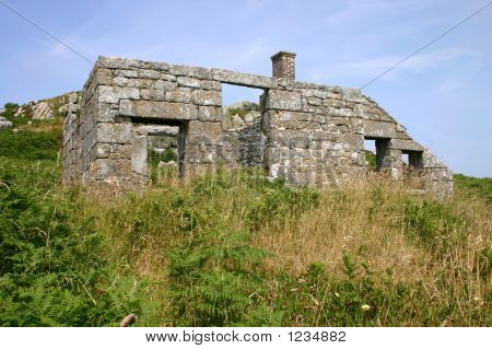 The Ruins Of The Pest House, St. Helens, Isles Of Scilly.