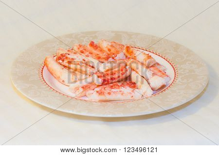 Real Pacific Crab Meat - Seafood In Russian Far Eastern  Cuisine