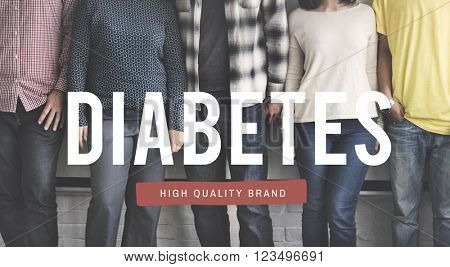 Diabetes Illness Medical Symptoms Blood Sugar Concept