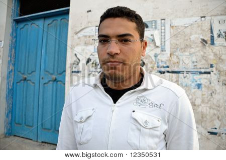 Angry Tunisian Man
